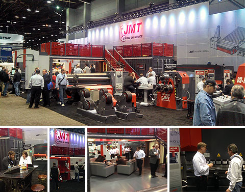 JMT's Booth at FABTECH