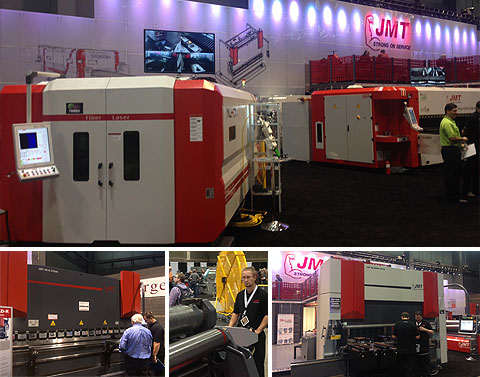 JMT Machines at FABTECH 2013