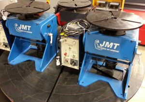 "JMT's 12"" Model CMS 150A Welding Positioners"