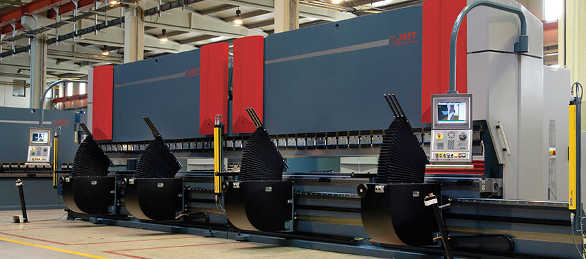 High Tonnage Press Brake