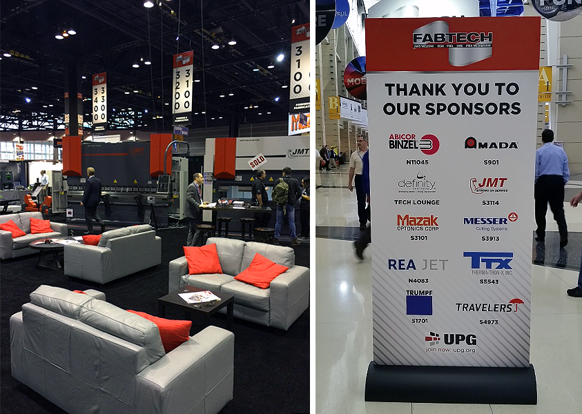 FABTECH 2015 Day 4 Images