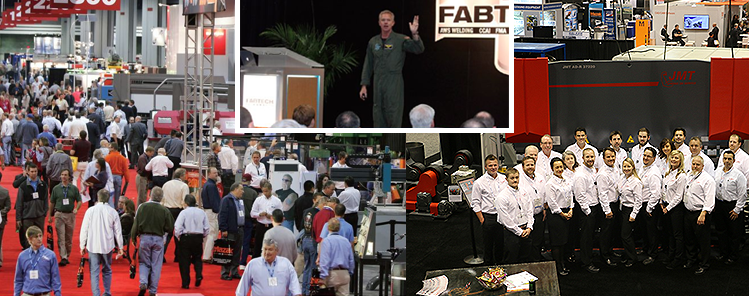 JMT is an Official Sponsor of FABTECH 2015