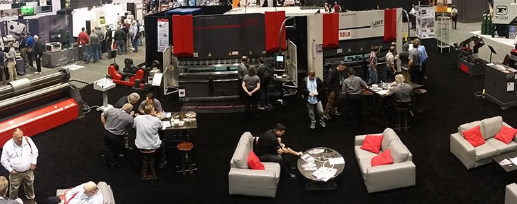 JMT Booth at FABTECH 2015