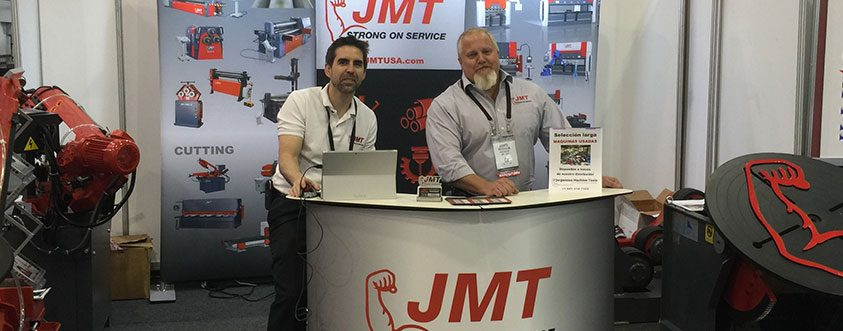 FABTECH Mexico 2016 JMT Booth