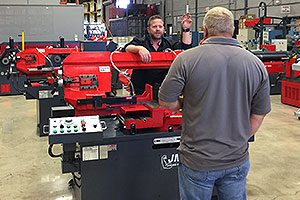 The Art of Selling Band Saws