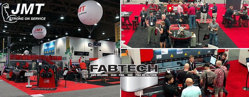 JMT at Day 1 of FABTECH 2016