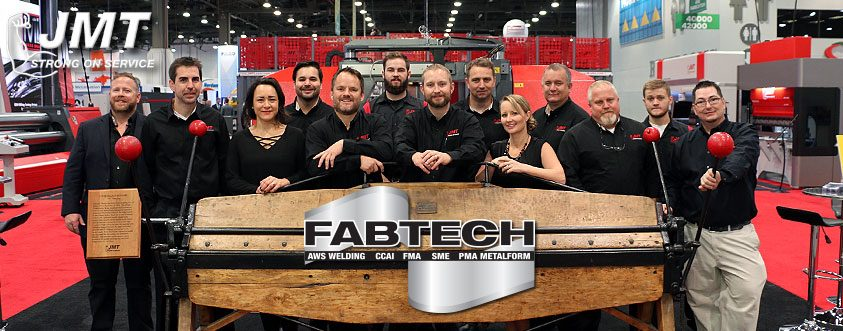 JMT's Team at the FABTECH Show