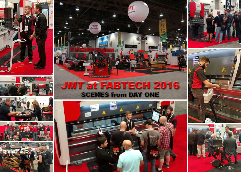 JMT at FABTECH 2016 Day 1