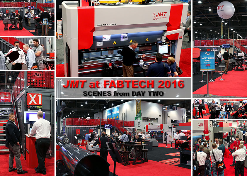 JMT at FABTECH 2016 Day 2