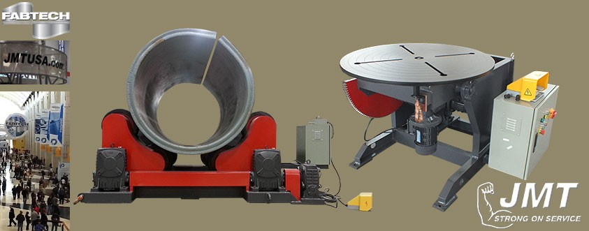 welding positioners at fabtech 2013