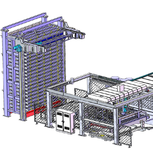 12 Rack Loading and Unloading System