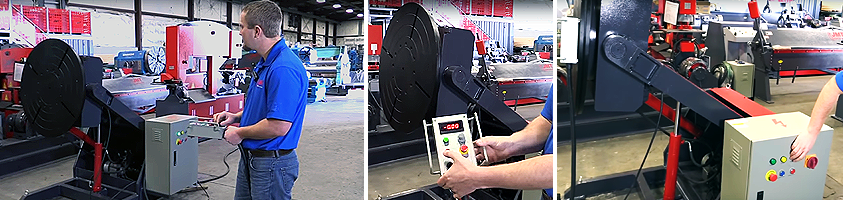 Adjustable Height Welding Positioners from JMT